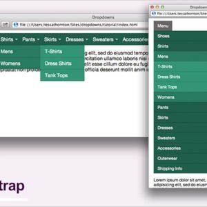 Создаем адаптивное меню с Bootstrap 3