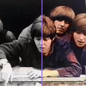 Как из черно белой фотографии сделать цветную