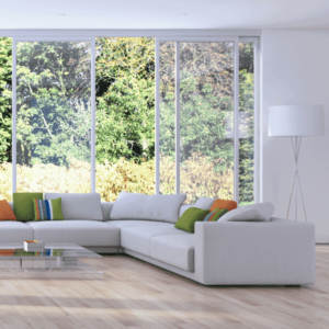 Сайт по продаже пластиковых окон и услуг остекления от компании «Аврора дизай-проект»